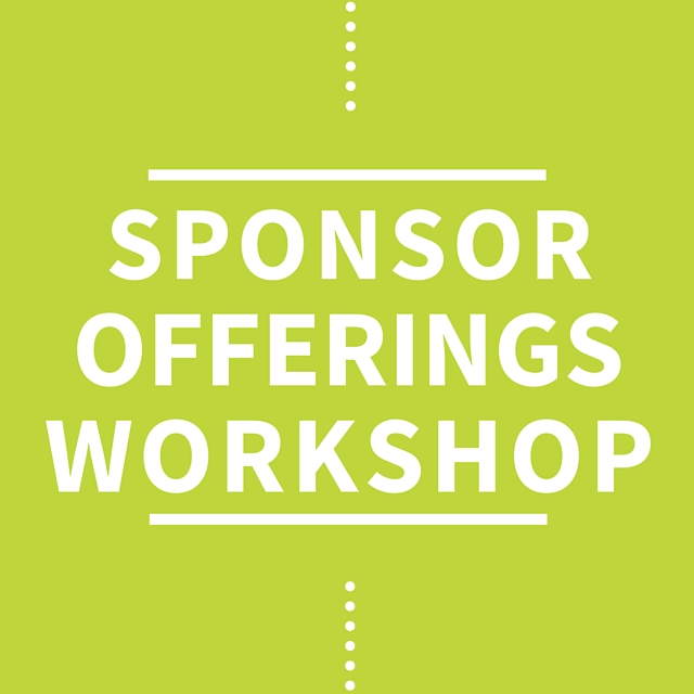 Sponsorship Offerings Workshop