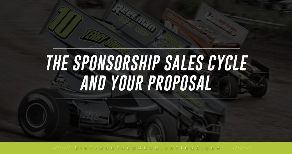 racing sponsorship proposal